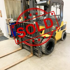 Sold Caterpillar Forklift C0313