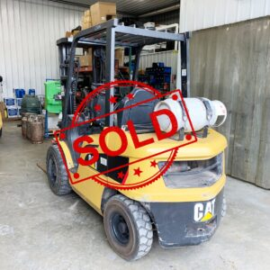 Sold Caterpillar Forklift C3047