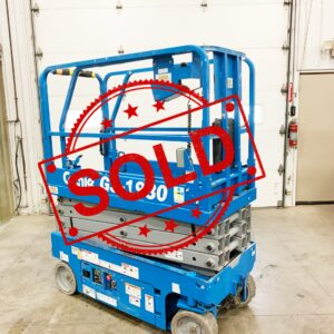 Sold Genie 1930 Scissor LIft R100 (1)