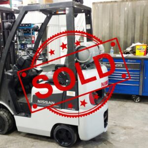 Sold Nissan Forklift CL18 N2383