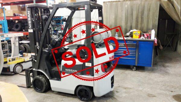 Sold Nissan Forklift CL18 N2383