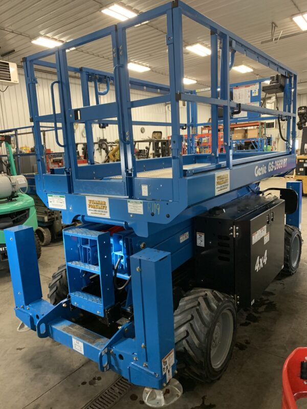 New Genie 2669RT With Outriggers