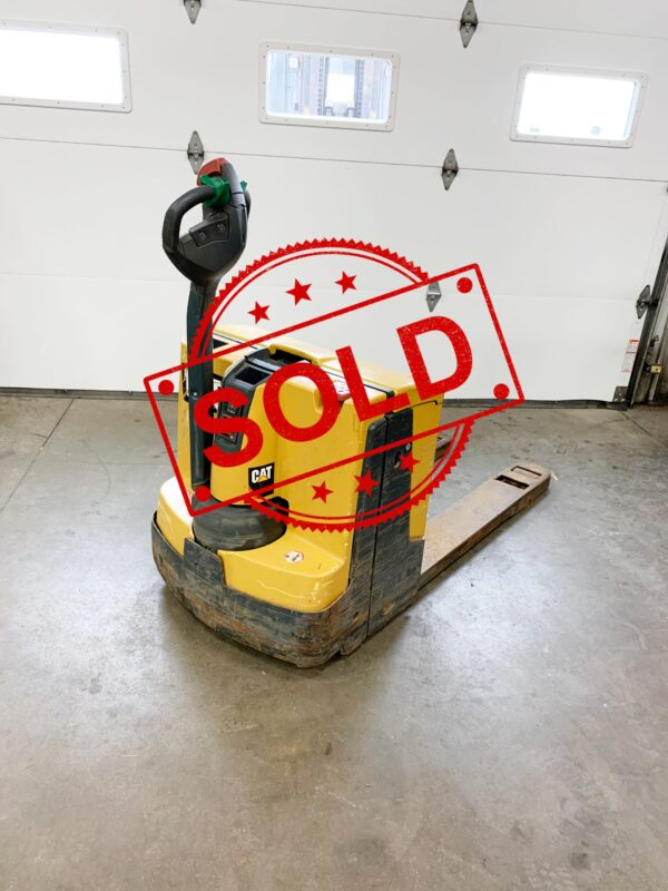 Sold Caterpillar Electic Pallet Jack